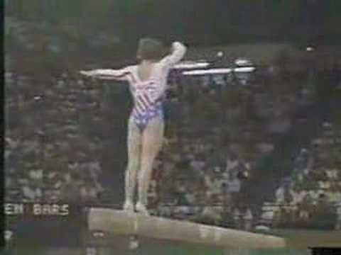 Olympic Champions - Los Angeles 1984 All-Around - Mary Lou Retton