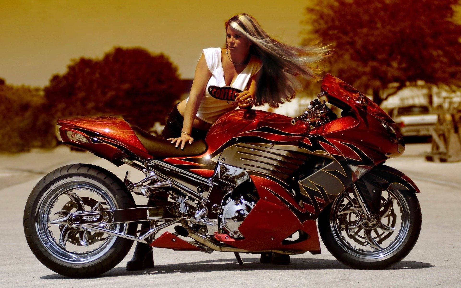 Free Screensaver Wallpapers For Girls And Motorcycles With Images