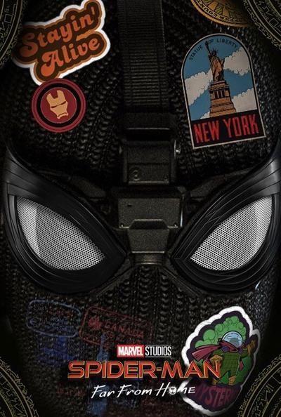 Spiderman Far From Home Alternative Poster by thecreatix on DeviantArt
