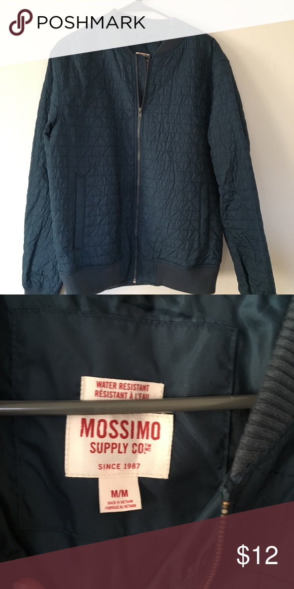e625e2bccd20a Men s jacket Teal jacket Mossimo Supply Co. Jackets   Coats Bomber   Varsity