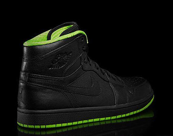 "new concept e71aa 8729b Air Jordan 1  ""Black Neon Green"""