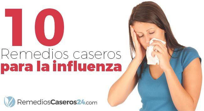 Remedios caseros para la influenza