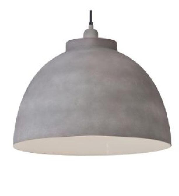 hanglamp betonlook kyto pronto wonen verlichting pinterest