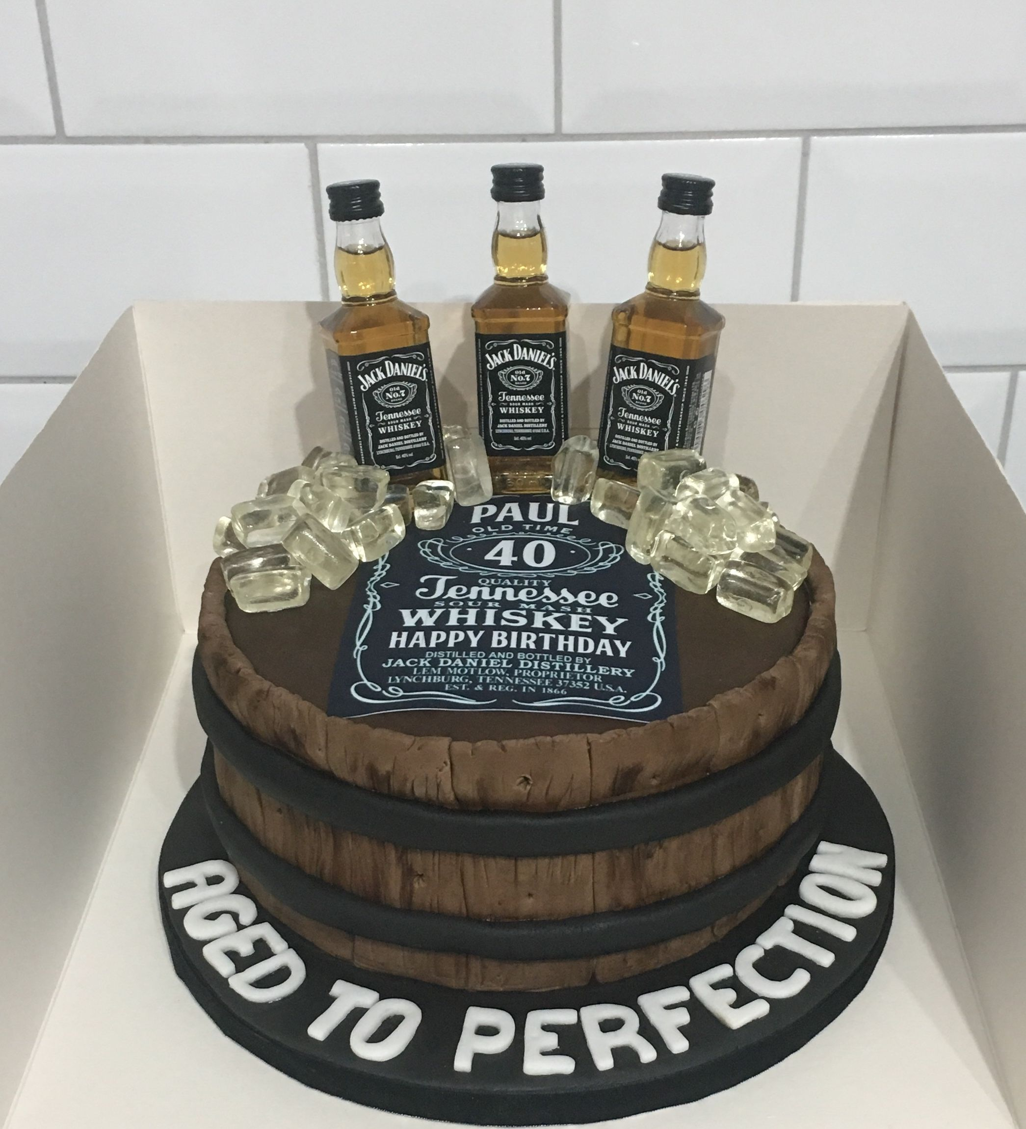 Pin By Cynthia Naylor On Cake Designs With Images Jack Daniels