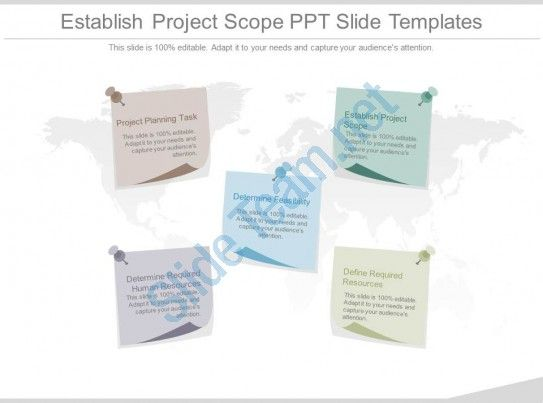 Establish Project Scope Ppt Slide Templates Slide