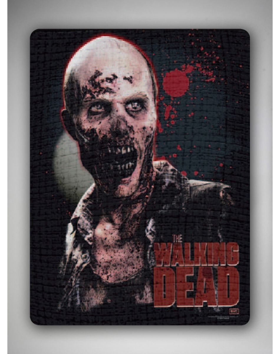 Walking Dead Throw Blankets Delectable The Walking Dead Fleece Blanket I Hope I Get This For Christmas Inspiration Design