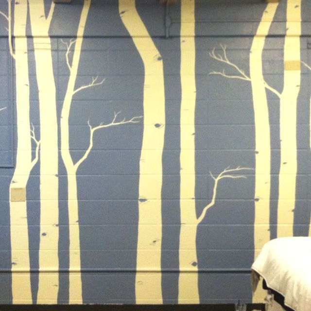 outdoor painted wall mural. not this mural, but i like getting rid ...