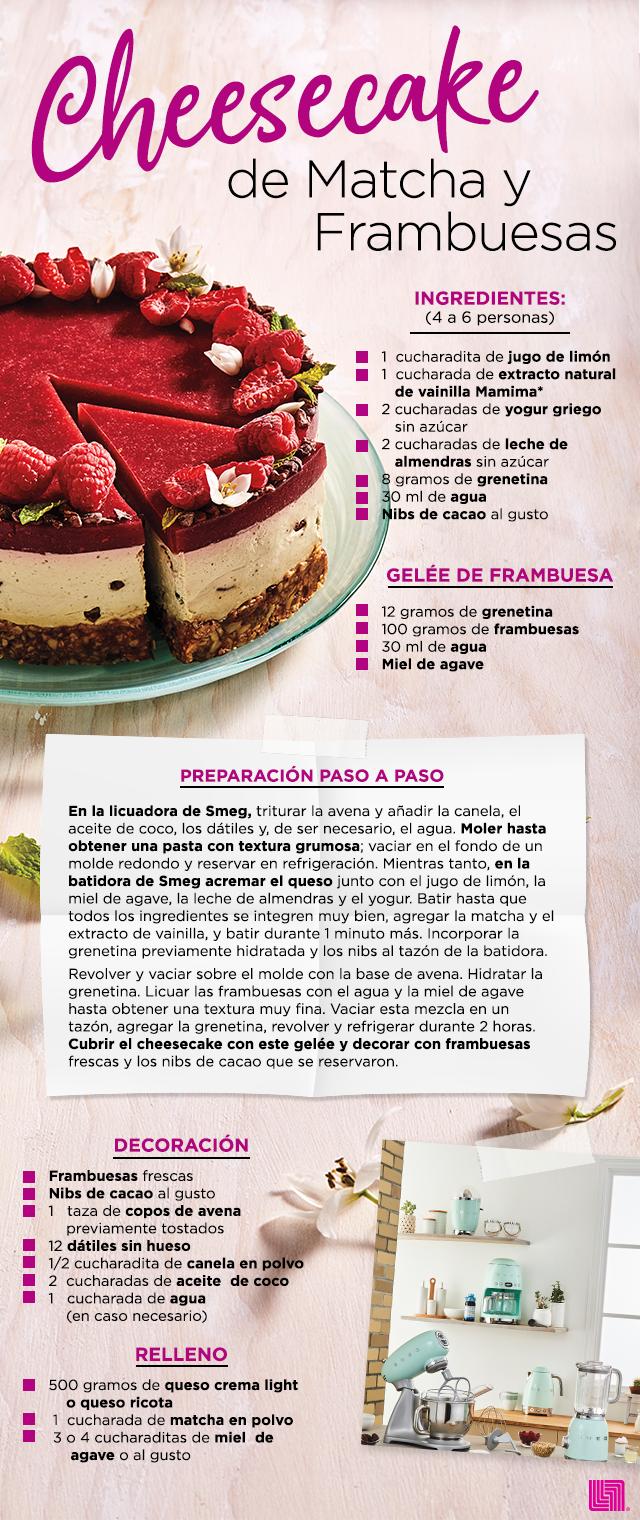 Cheesecake De Matcha Recetas Fáciles De Comida Recetas Para Cocinar Recetas De Cocina