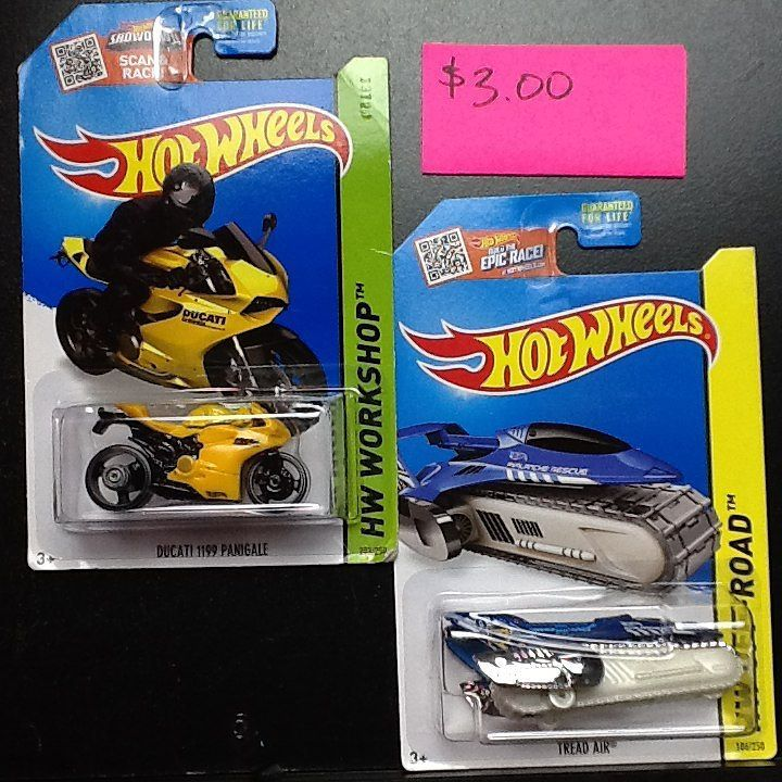 Hot Wheels cars For Sale $3.00 thunt tread air lot Price does not ...