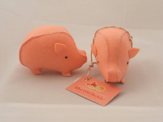 Dollhouse When Pigs Fly Pink Flying Pig Handmade Toy Shop Child/'s Room Gift