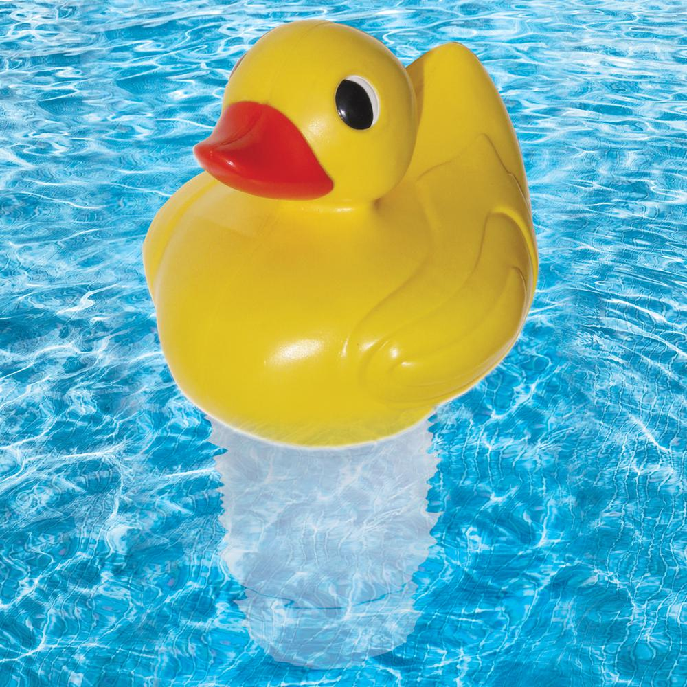 Poolmaster Duck Chlorine Chemical Dispenser Multi Swimming Pool Chlorine Spa Hot Tubs Pool Chlorine