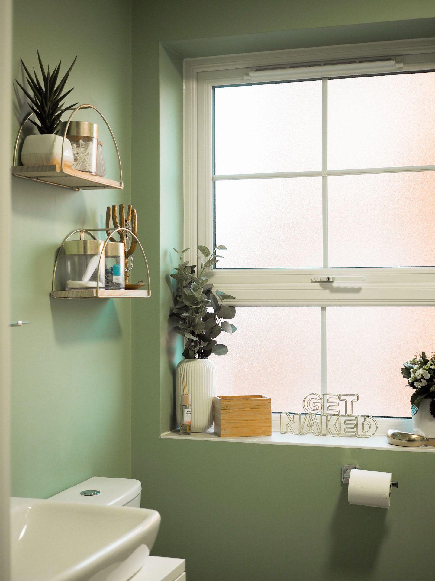A Sage Green Bathroom New Build Makeover Creating A Calm Space Green Bathroom Decor Green Bathroom Bathrooms Remodel Sage green bathroom decor