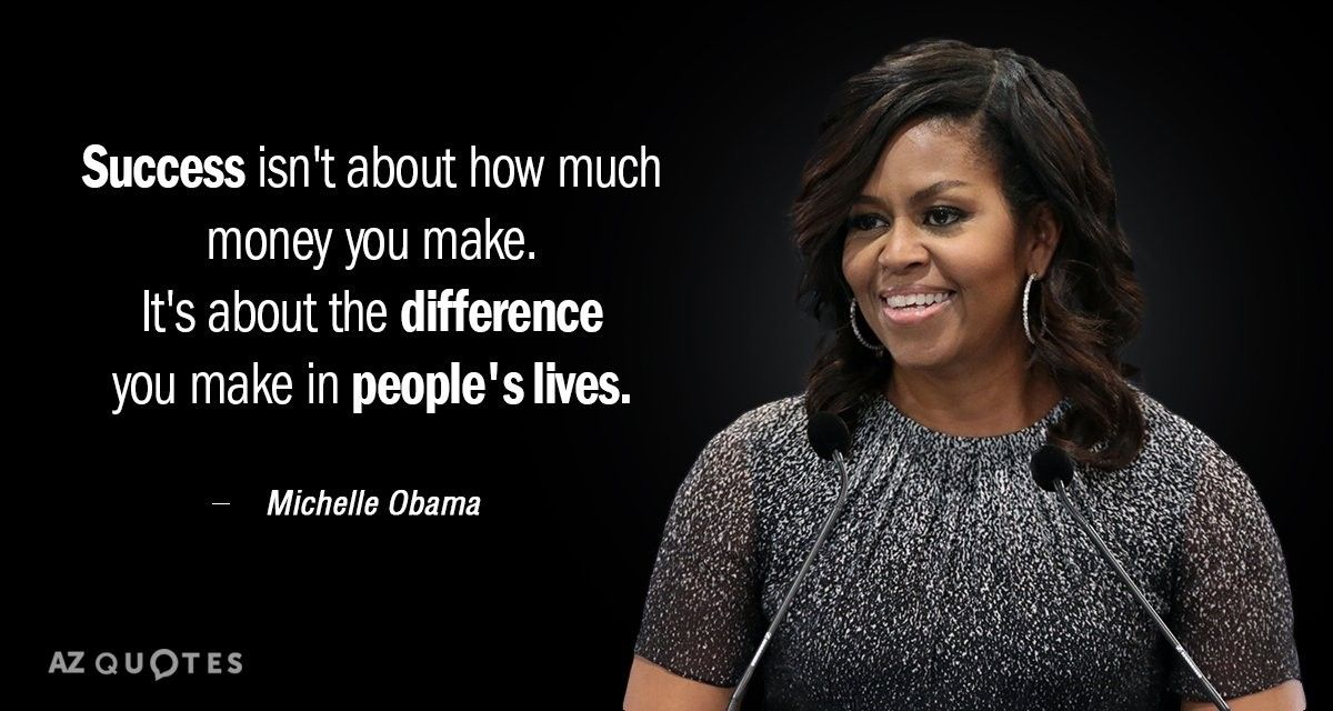 Pin by Mariam on Famous people quotes Michelle obama