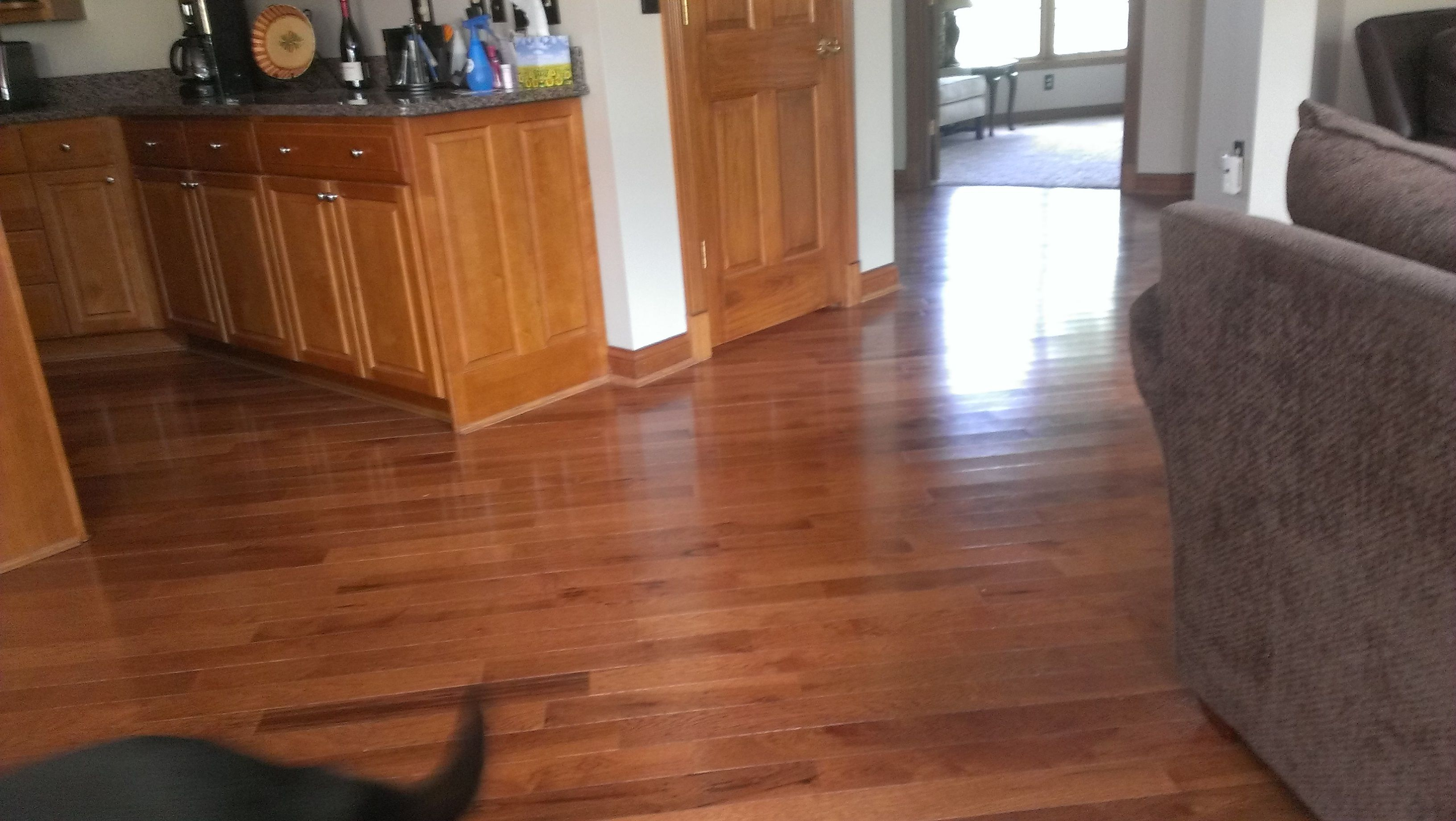 Character Grade Hickory Saddle By Somerset Hardwood Flooring