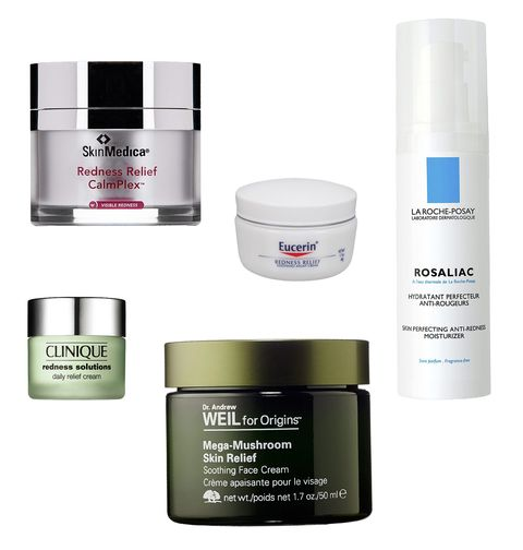Best Products To Treat And Conceal A Red Flushed Face Clinique Redness Solutions Skin Medica Face Cream