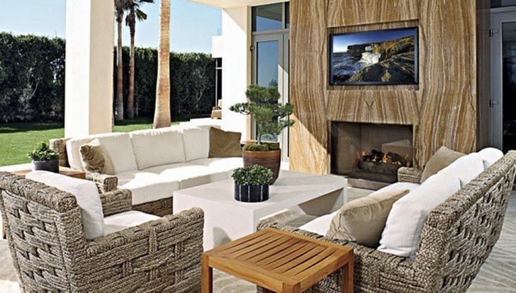 Landry Architects Calif | ... Compound House Interior Living Room in Bel Air by Landry Design Group