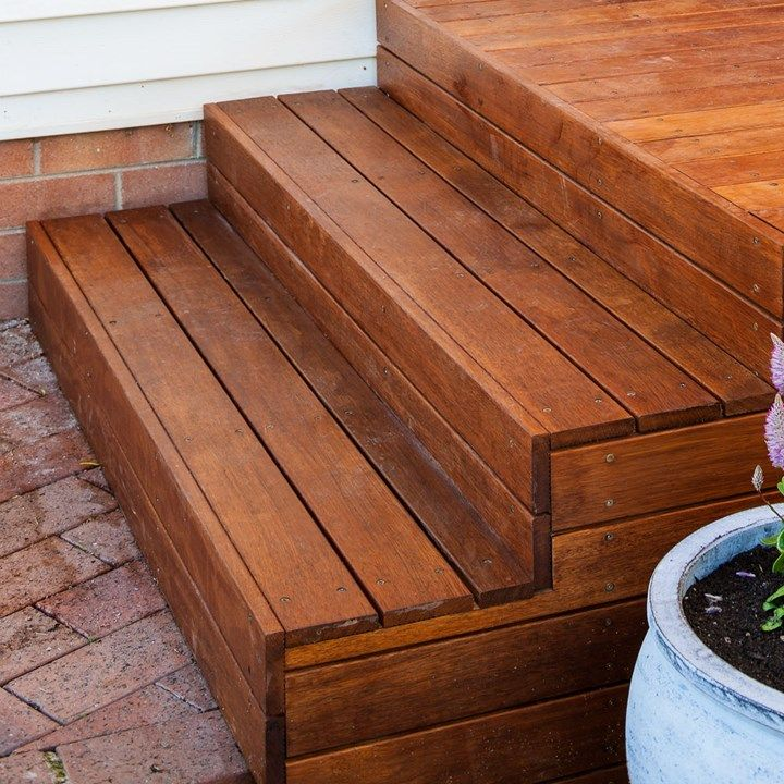 decking over concrete porch steps outside pinterest concrete porch porch steps and porch. Black Bedroom Furniture Sets. Home Design Ideas