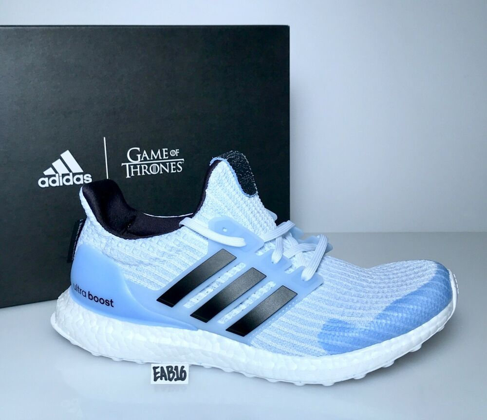 ADIDAS ULTRABOOST 4.0 X GAME OF THRONES WHITE WALKERS Blue