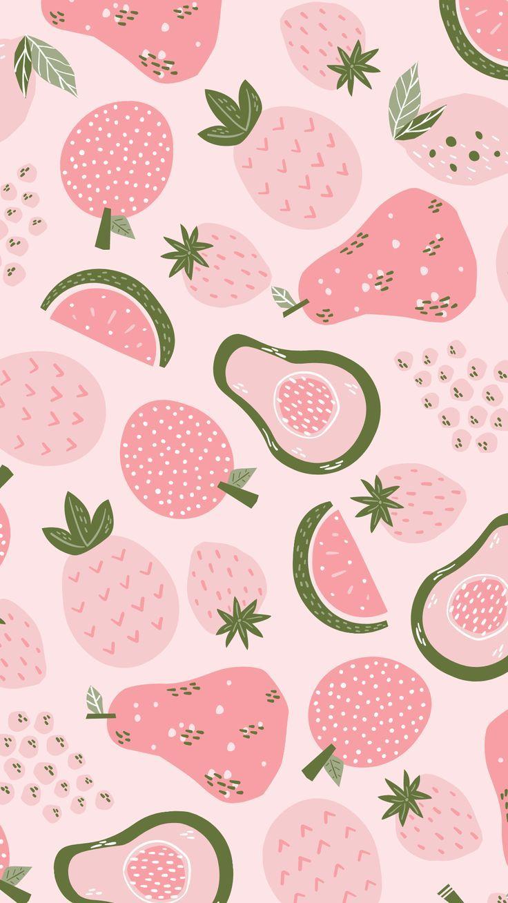 pink wallpaper background