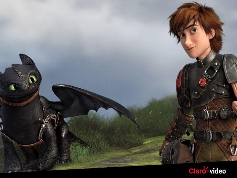 """Soluço e Banguela já estão te esperando para assistir """"Como treinar o seu dragão"""", no Claro video. Alugue agora!"""