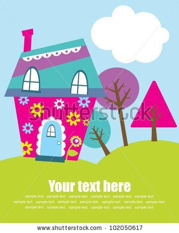 cute house vector illustration by kearia via shutterstock smartphone vektor schlüssel