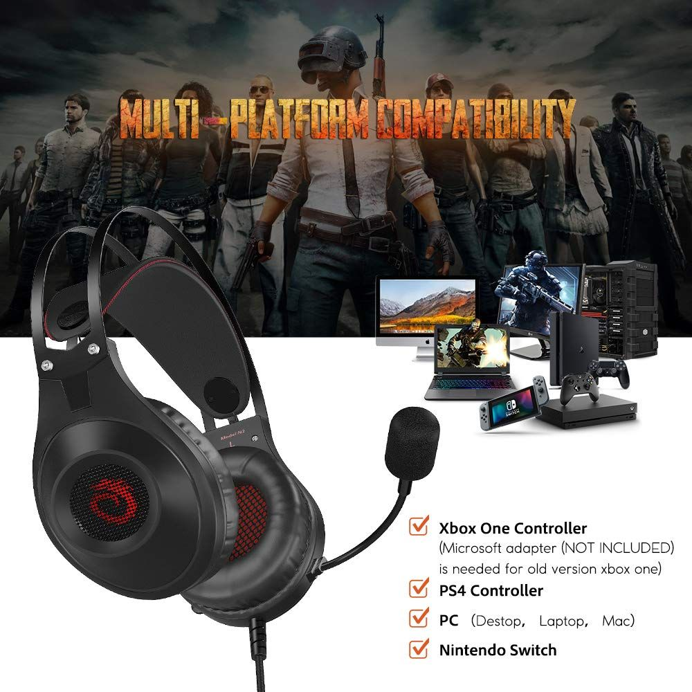 VersionTECH  N2 Gaming Headset for PS4, New Xbox One