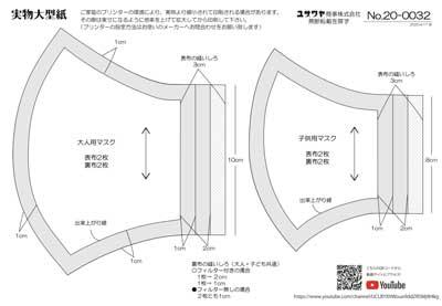小池 百合子 の マスク の 作り方