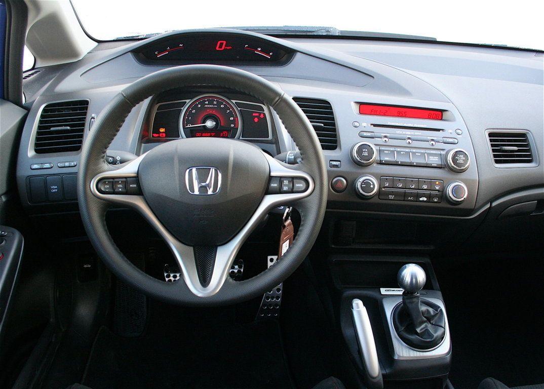 Honda Honda Civic Si 2008 Interior Car Wallpapers Carros
