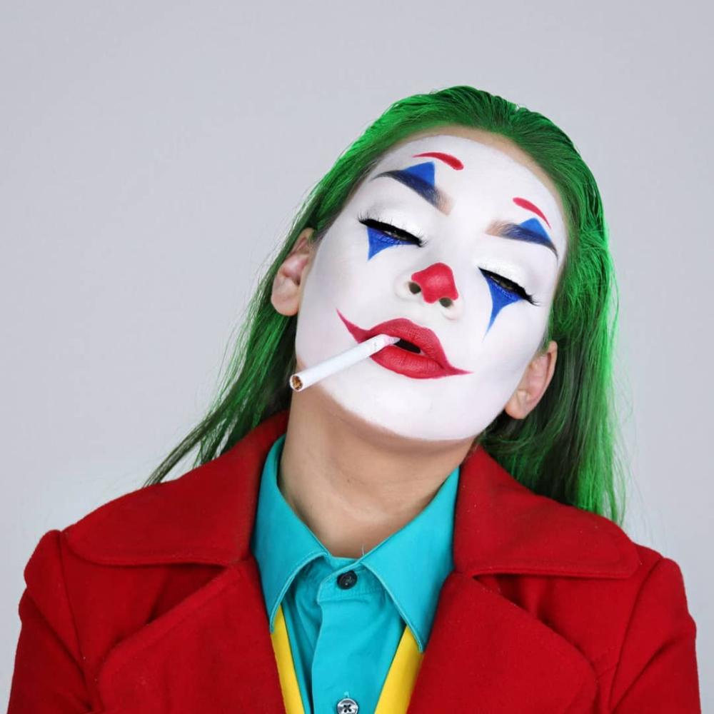 Pin De Ana Reina En Joker En 2019 Maquillaje Halloween