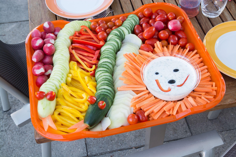 Gefährliche Gemüseplatte für Kinder - Dangerous vegetables for Kids #whatkindofdog