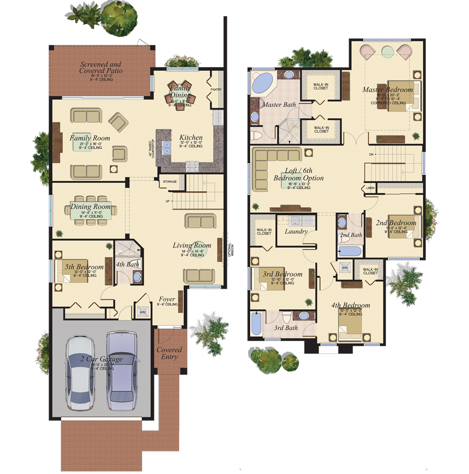 The Conrad Floorplan At Riverstone New House Plans Home Design Floor Plans Family House Plans