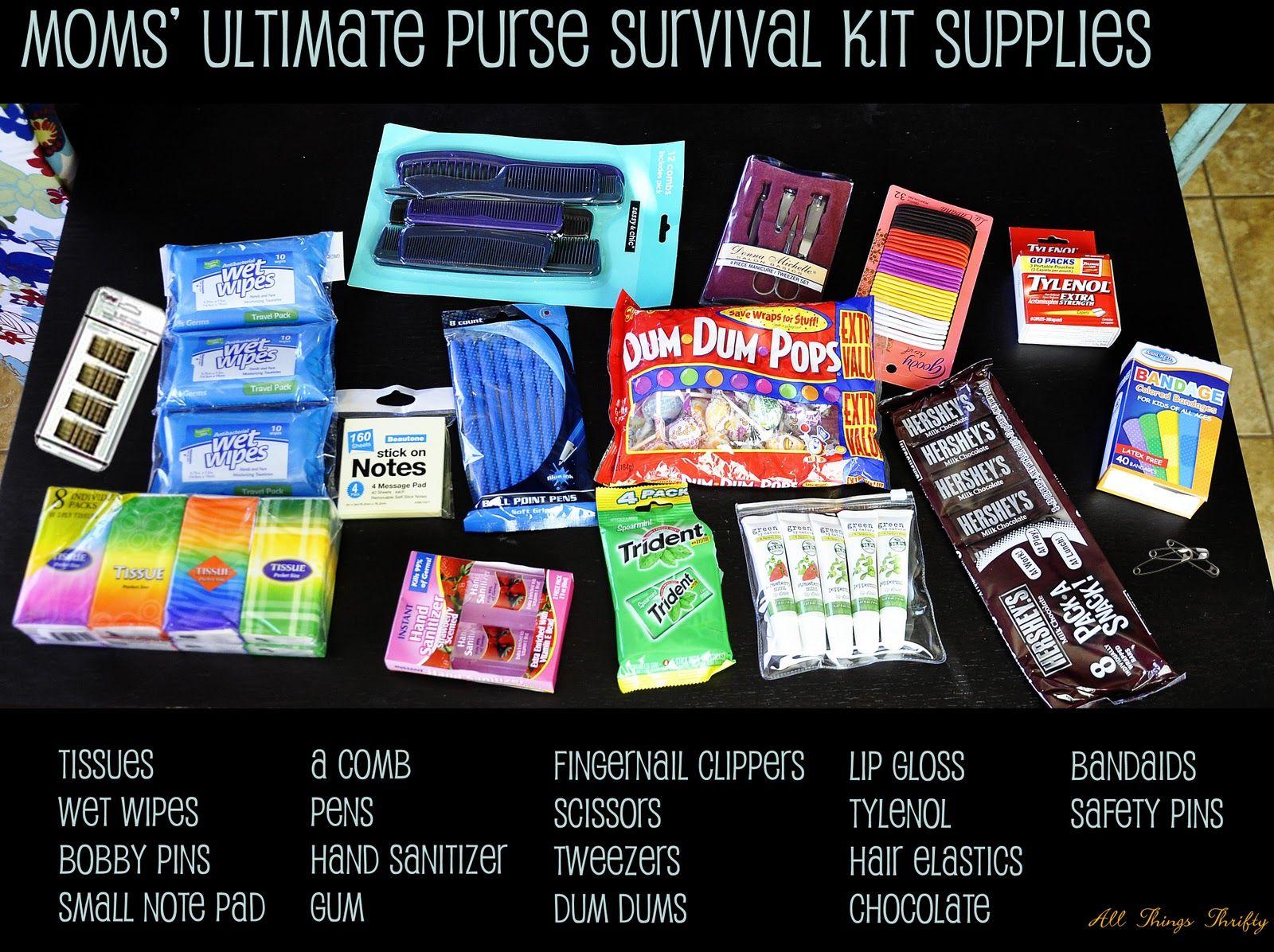 mom 39 s ultimate survival kit team mom ideas kit survival mom survival kit. Black Bedroom Furniture Sets. Home Design Ideas