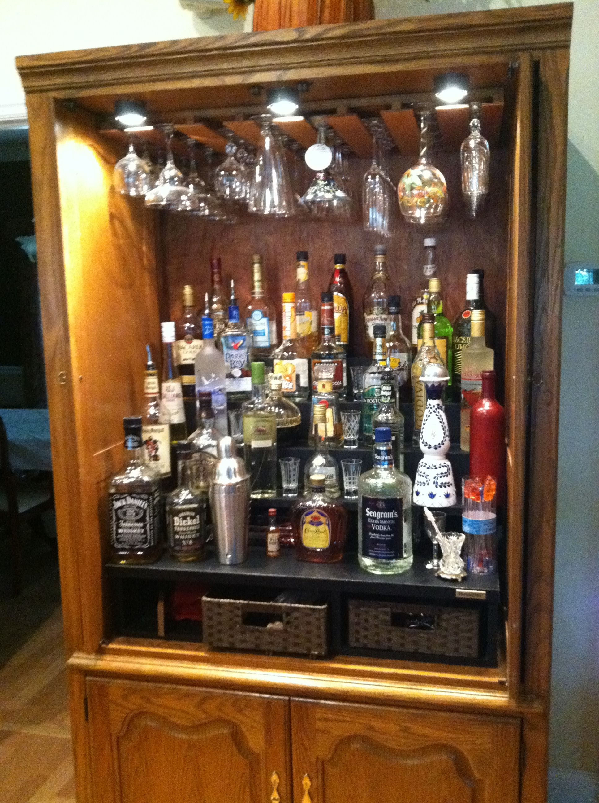 now THIS is a liquor cabinet....my next big project | My Home ...