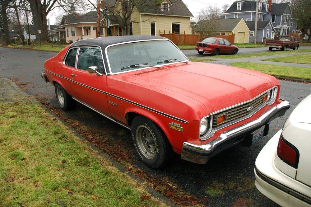 1974+Chevrolet+Nova+Custom+Hatchback+V8+350+Third+Generation+with+ ...