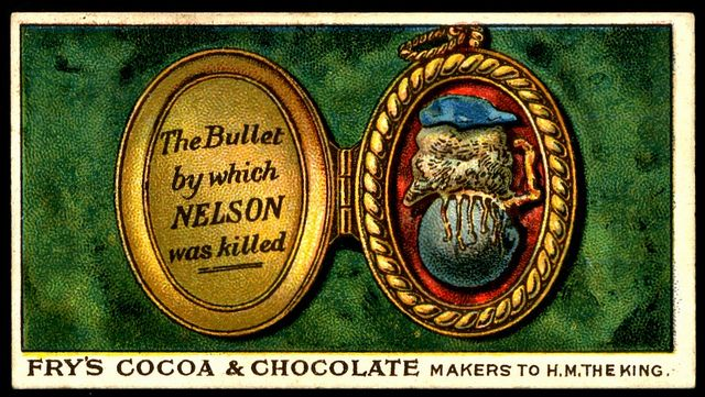 Fry's Tradecard - The Bullet That Killed Nelson