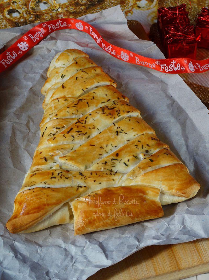 Albero Di Natale Di Pasta Sfoglia Salato.Albero Di Sfoglia Art Food Ricette Ricette Di Dolci