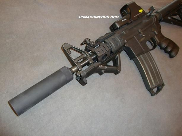 ar15 with suppressors | AR-15 Machined Fake Suppressor for  223