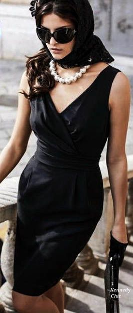 proper southern funeral attire  little black dress black