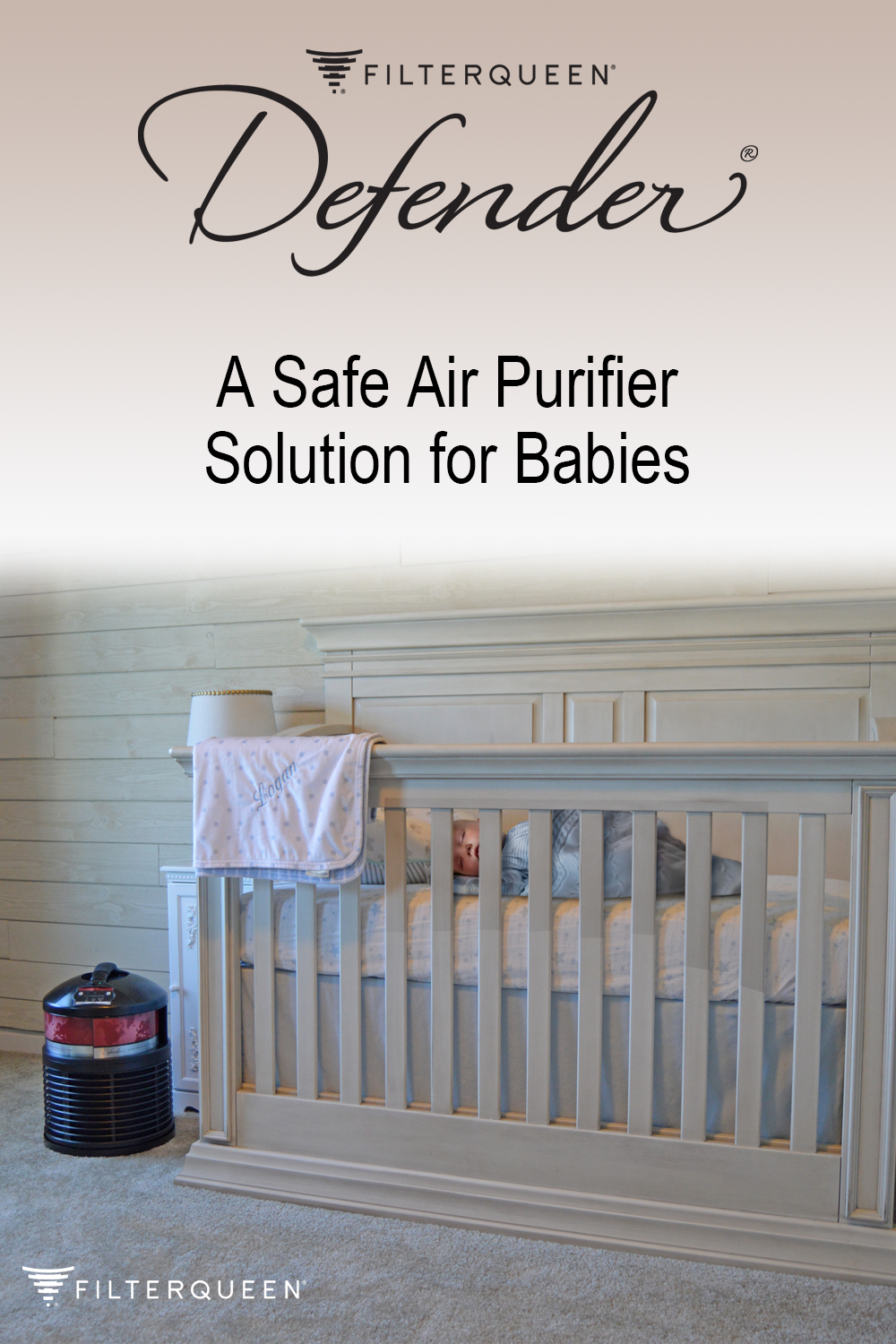 New Baby? Our solution to purified air for your new family