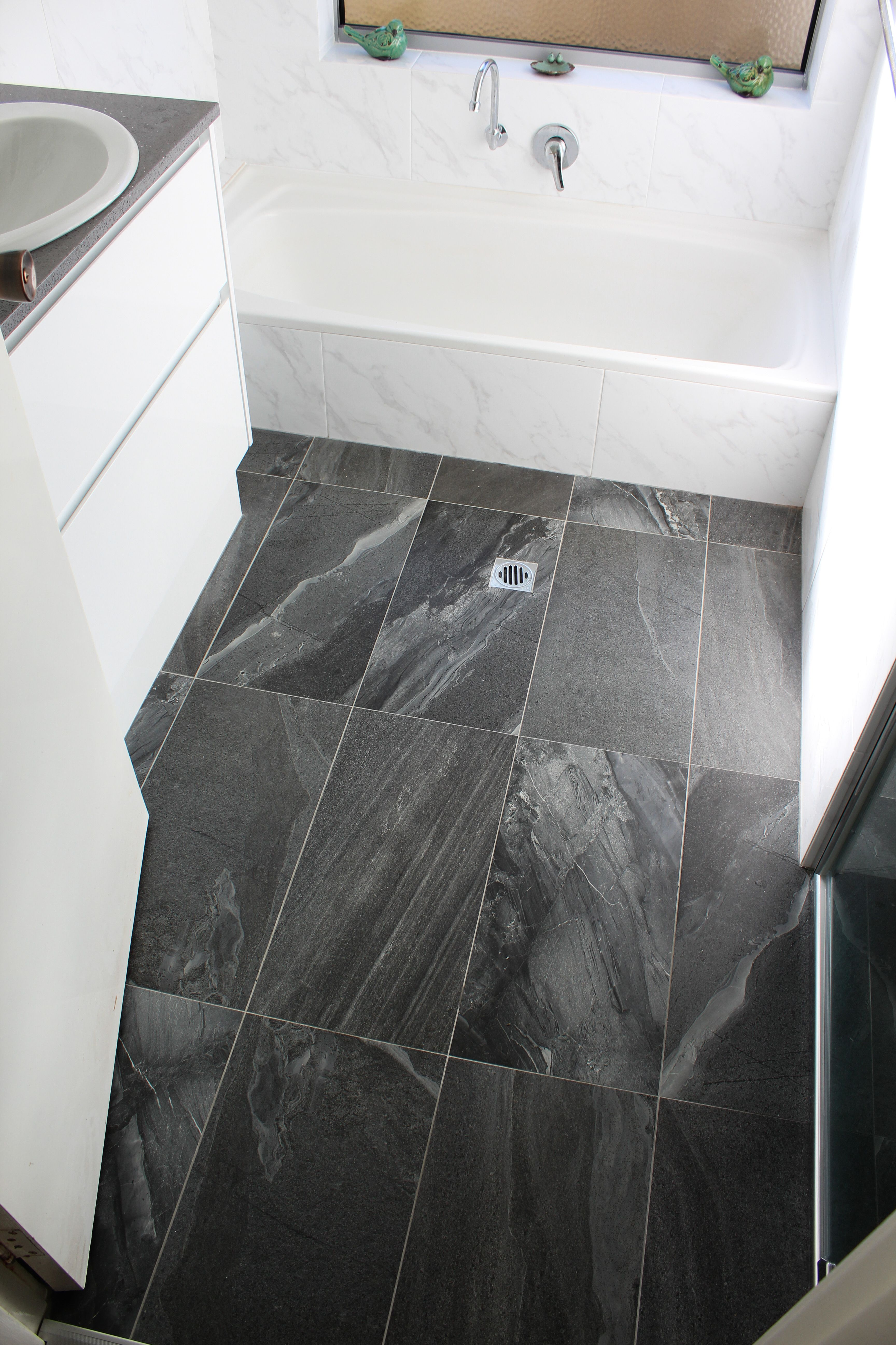 Charcoal Bathroom Stone Bathroom Tiles Charcoal and Marble Wall Tiles Black and White Bathrooms the Ball Bathrooms
