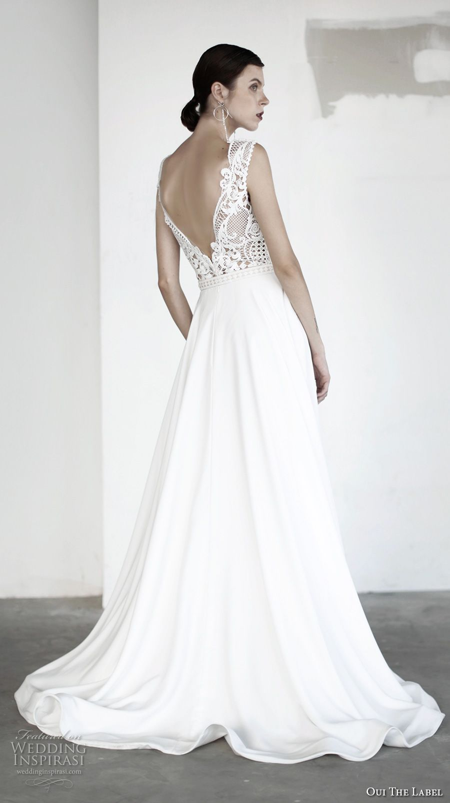Wedding dress with bow on back  OUI The Label  Wedding Dresses u ucNew Romanticsud Bridal  Chapel