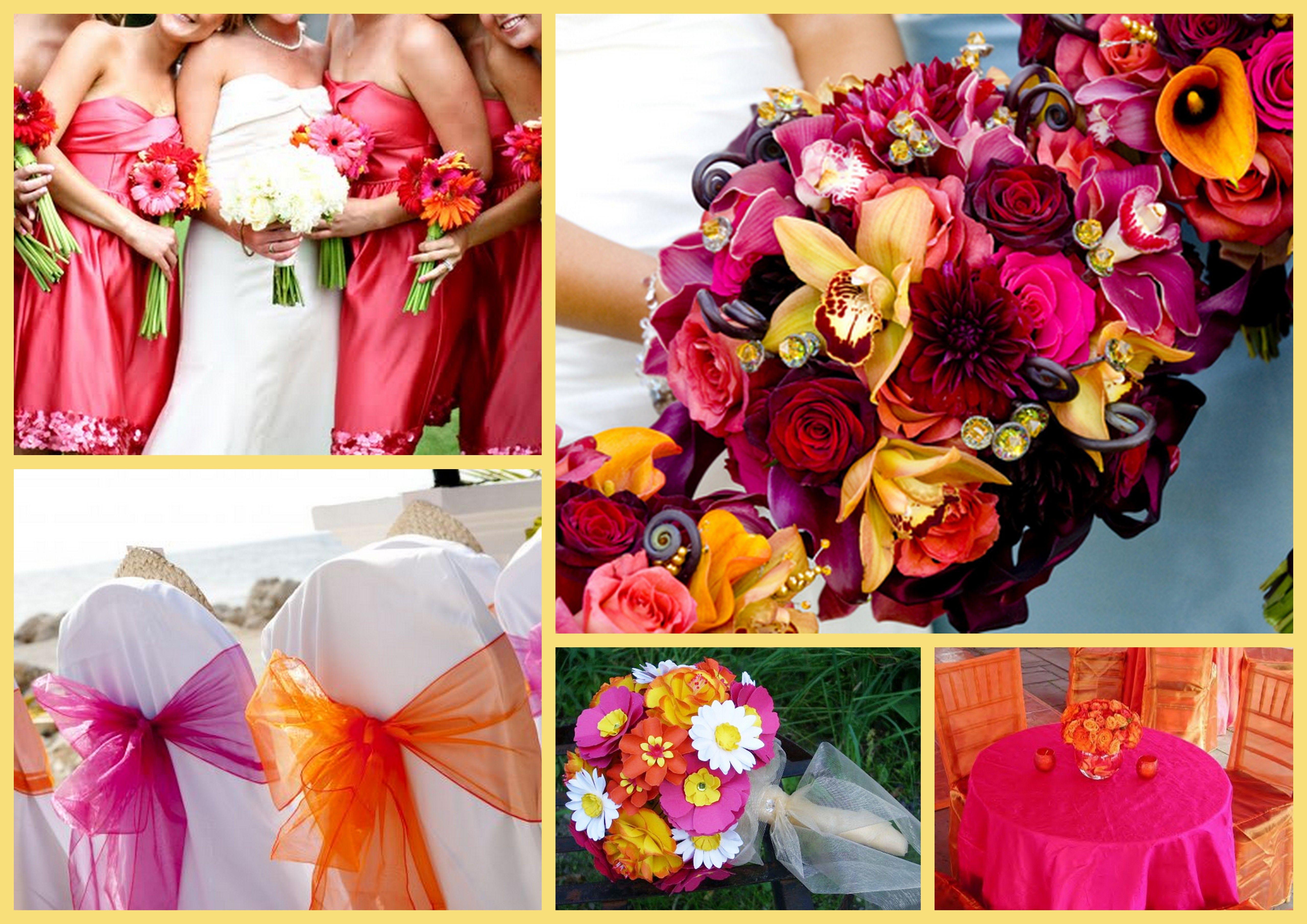 Image Detail For Colour Themes Your Wedding 2017 Orange Watermelon