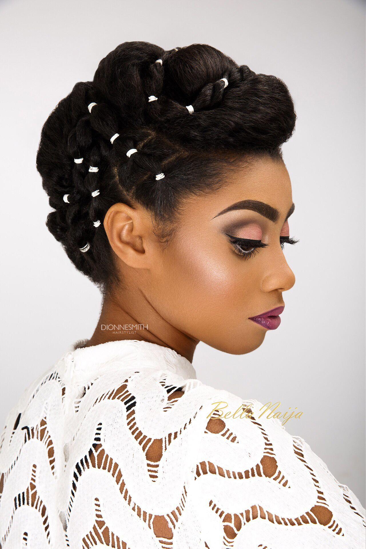 bn bridal beauty: international bridal hair specialist, dionne smith