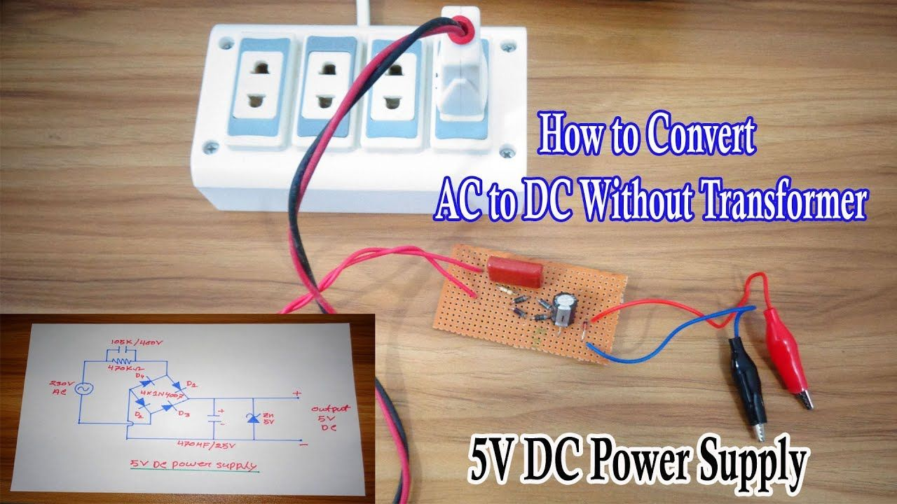 Transformerless Power Supply 230vac To 5vdc Without Transformer 230 Vac Wiring