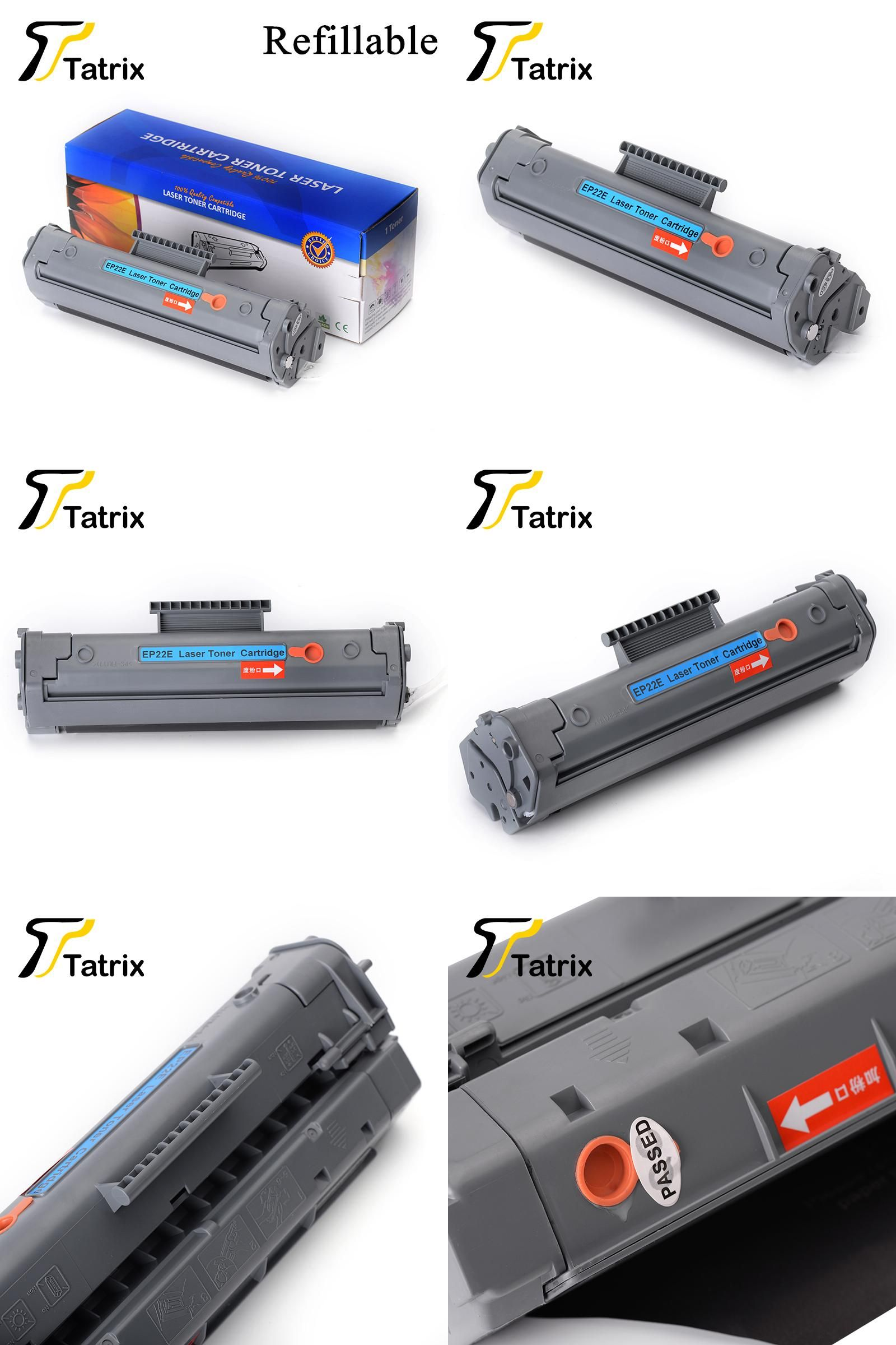 Visit To Buy 22 Cartridge For Canon Ep22 Refillable Toner Cadtrige 810 Compatible