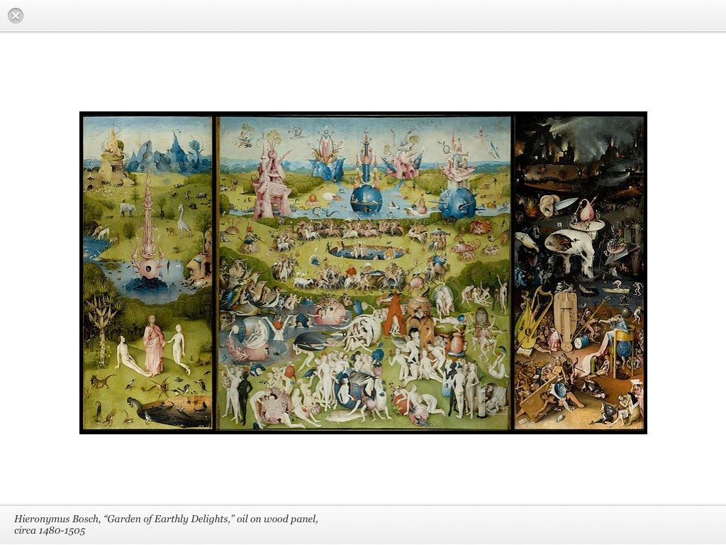 """""""Garden of Earthly Delights"""" by Hieronymus Bosch"""