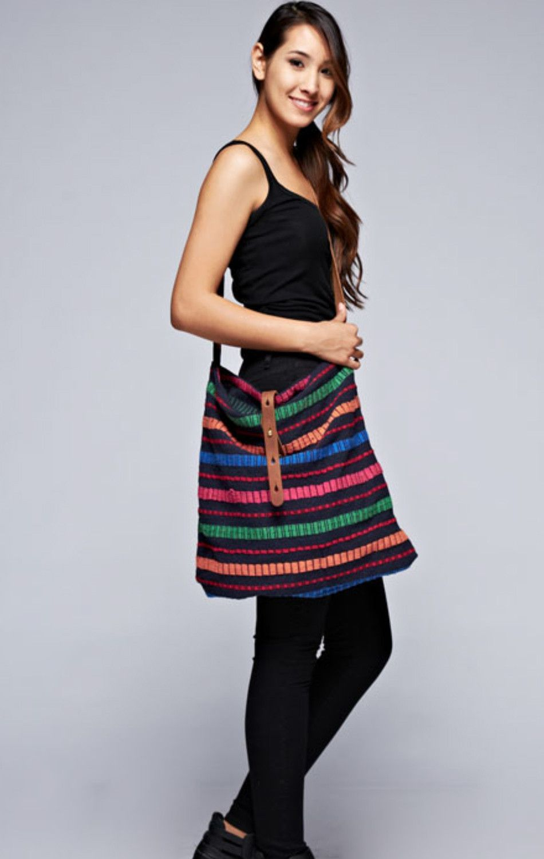 Meet Virginia Love Stitch Crossbody Bag