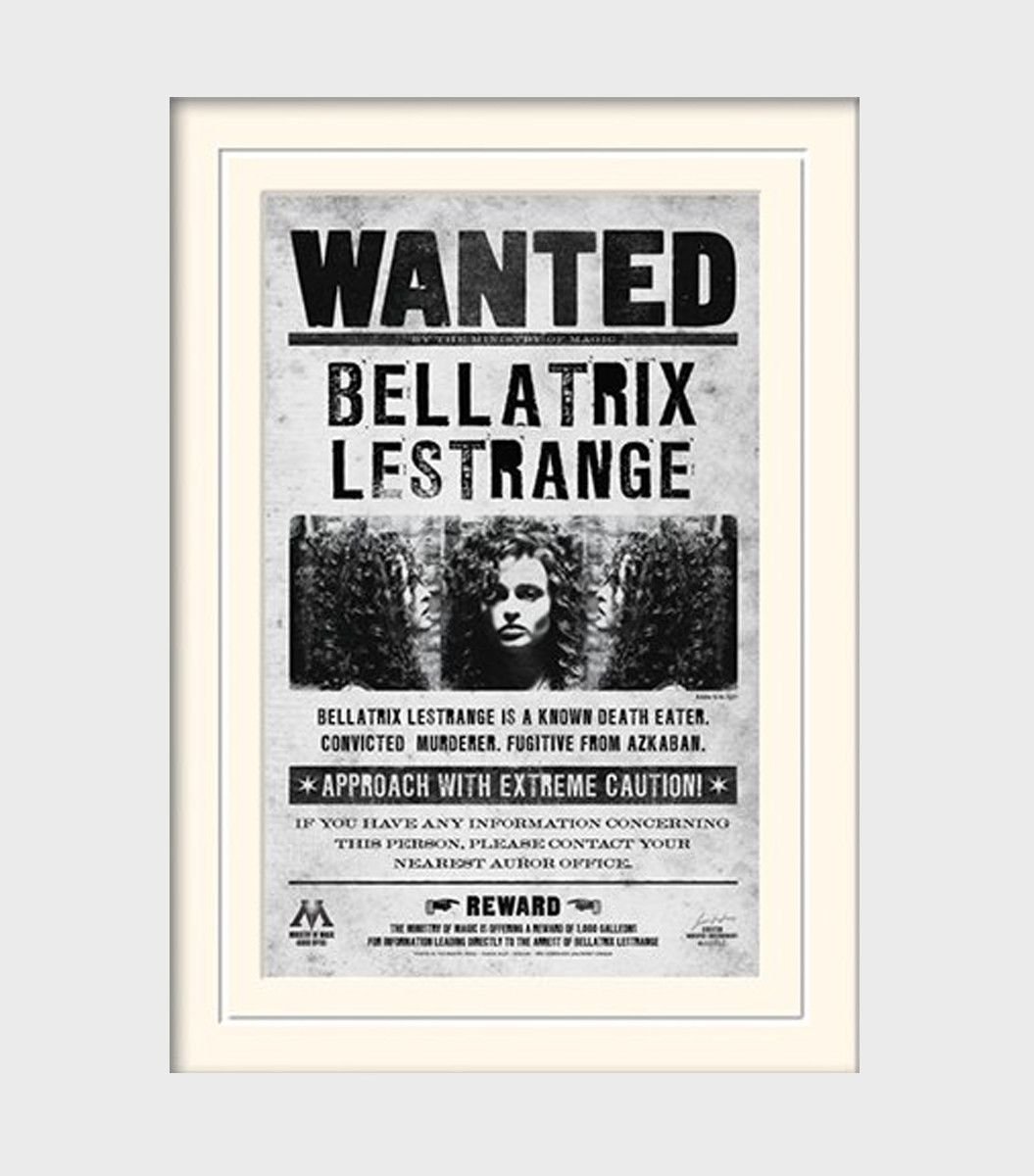 Uncategorized Harry Potter Pictures To Print bellatrix wanted poster print and harry potter movieharry potter