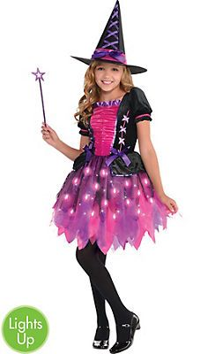 Girls Witch Costumes - Kids Witch Costumes - Party City Canada