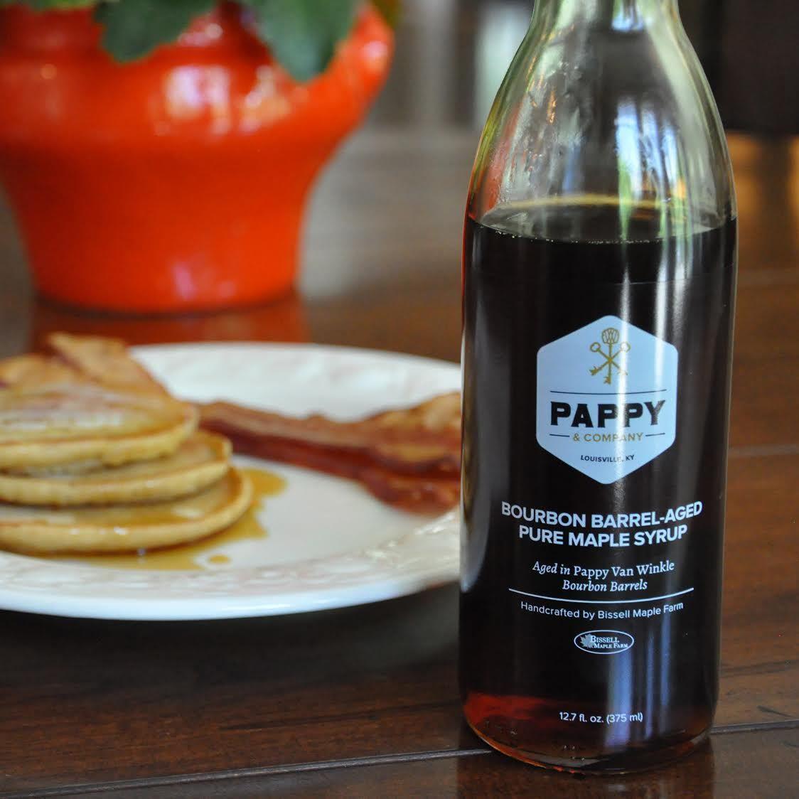 pappy van winkle bourbon barrel aged pure maple syrup van winkle